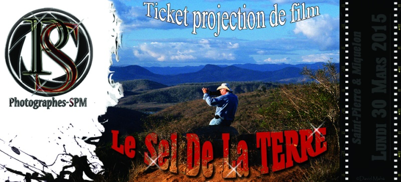 "Projection au CCS du film/documentaire ""Le sel de la Terre"" Ticket10"
