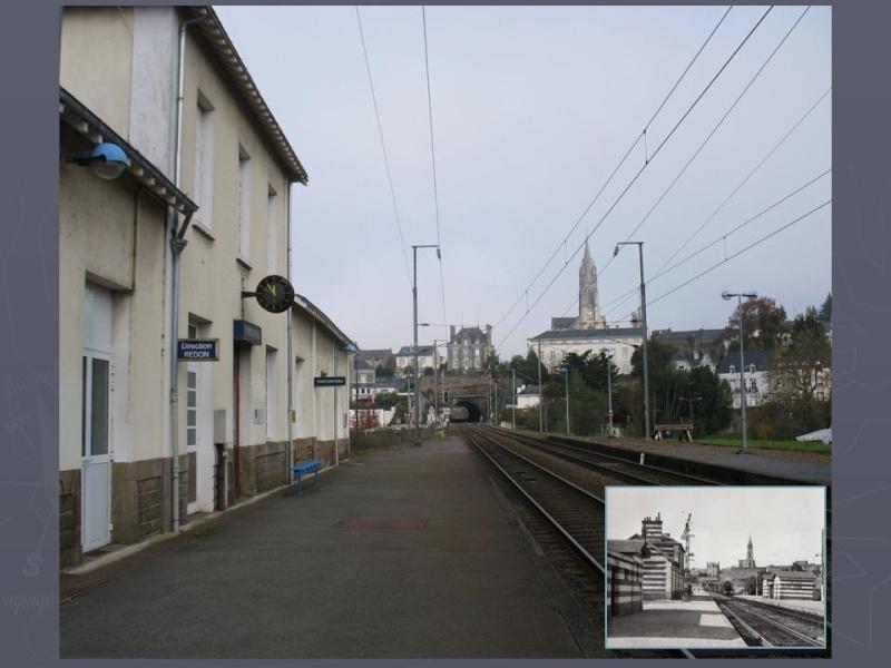 La gare de Pontchâteau Ligne Savenay-Redon-Quimper 10-dia10
