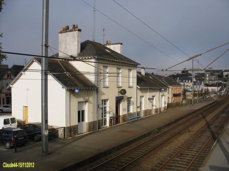 La gare de Pontchâteau Ligne Savenay-Redon-Quimper 2-pont11