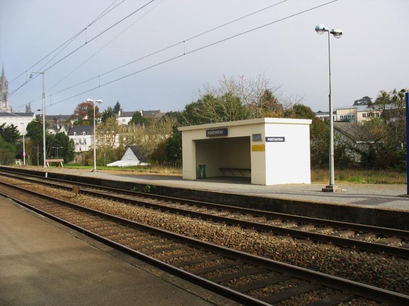 La gare de Pontchâteau Ligne Savenay-Redon-Quimper 3-pont10