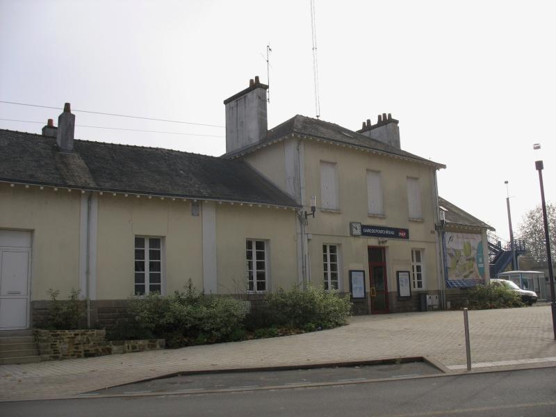 La gare de Pontchâteau Ligne Savenay-Redon-Quimper 4-pont11