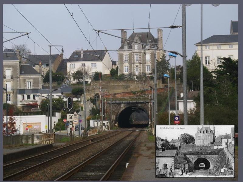 La gare de Pontchâteau Ligne Savenay-Redon-Quimper 8-diap10