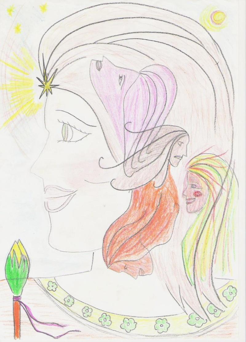 La regina Radha Radha-10