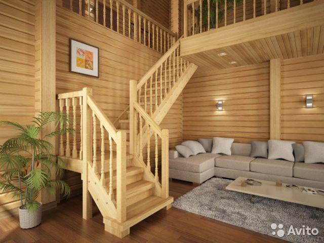 Деревянные лестницы 11319110