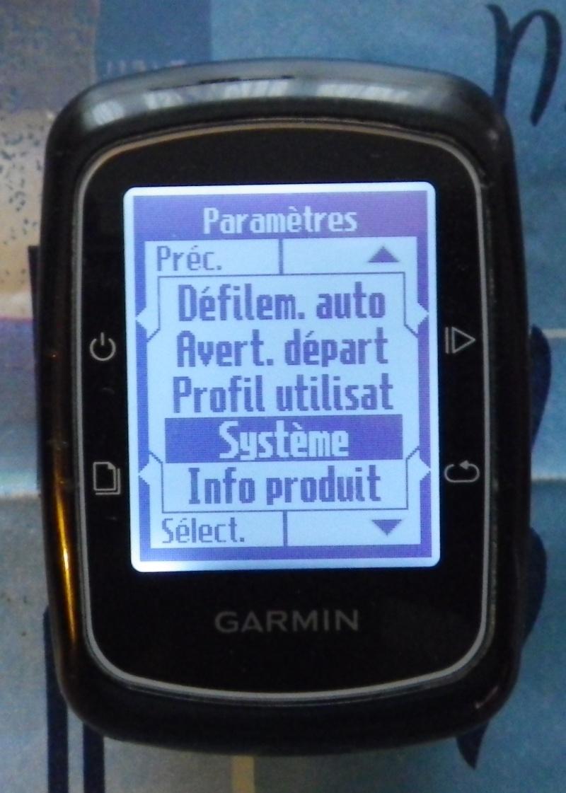 TUTO pour réglage de l'éclairage du GPS EDGE 200  Imgp2434