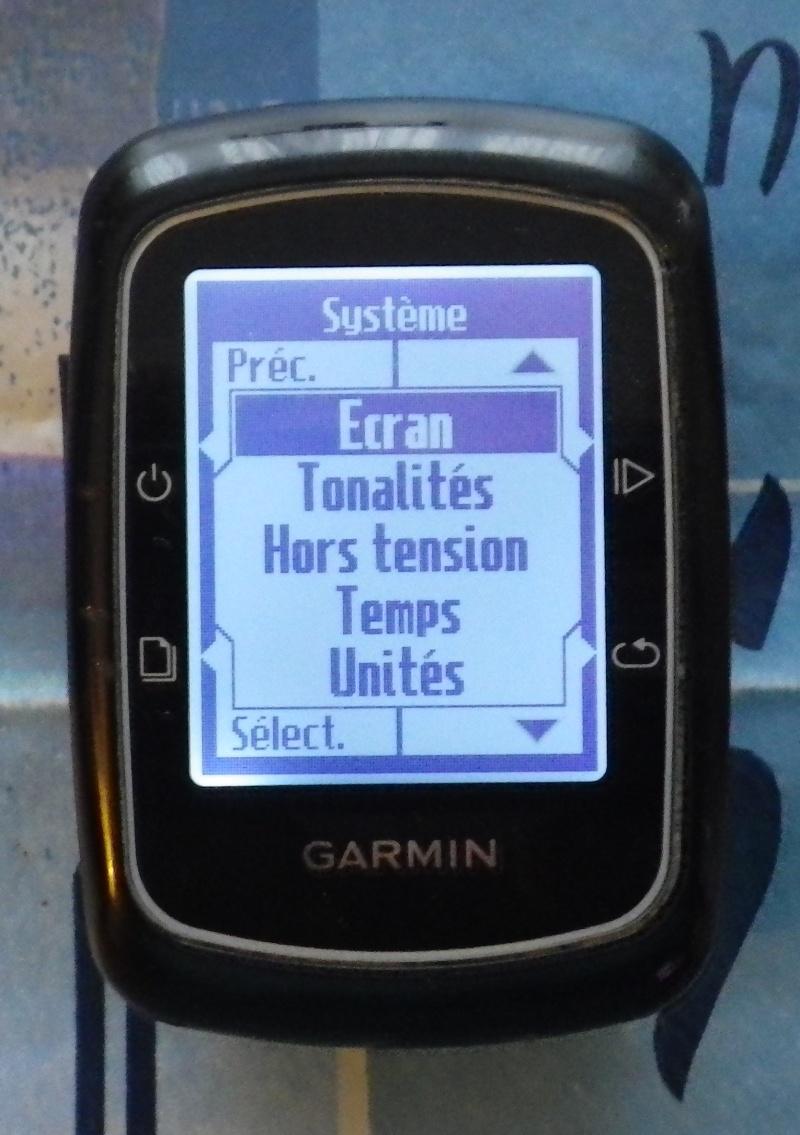 TUTO pour réglage de l'éclairage du GPS EDGE 200  Imgp2435