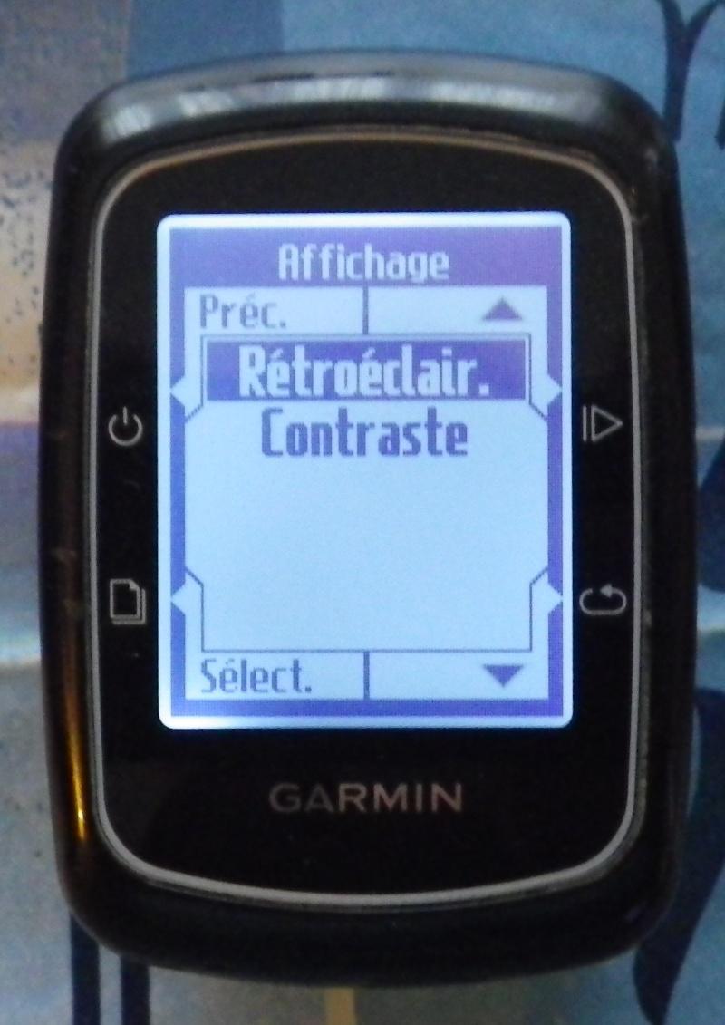 TUTO pour réglage de l'éclairage du GPS EDGE 200  Imgp2436
