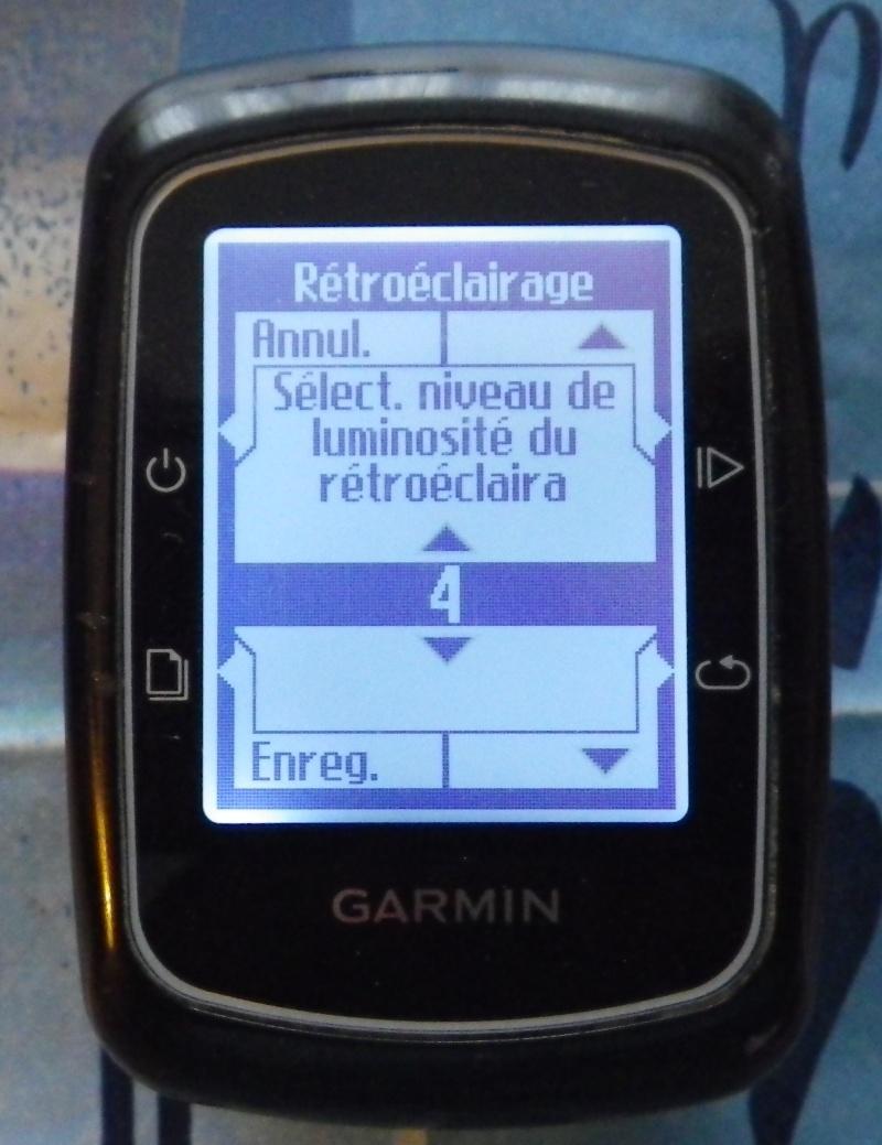 TUTO pour réglage de l'éclairage du GPS EDGE 200  Imgp2437