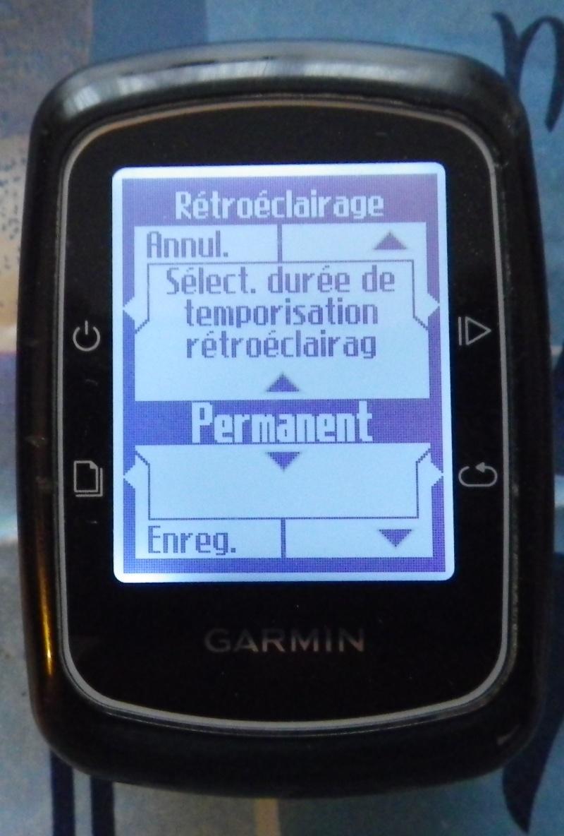 TUTO pour réglage de l'éclairage du GPS EDGE 200  Imgp2438