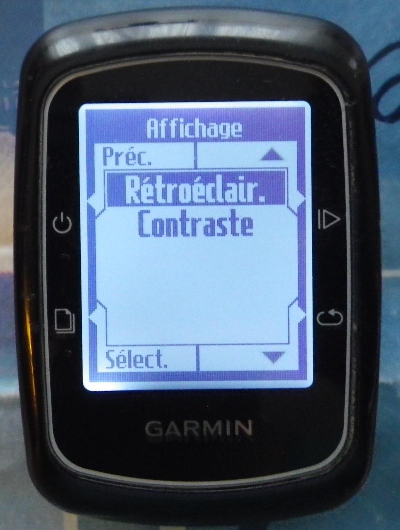 TUTO pour réglage de l'éclairage du GPS EDGE 200  Imgp2440
