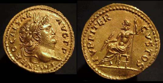 Aureus de Néron sur le bon coin par novorossia Nero_a10