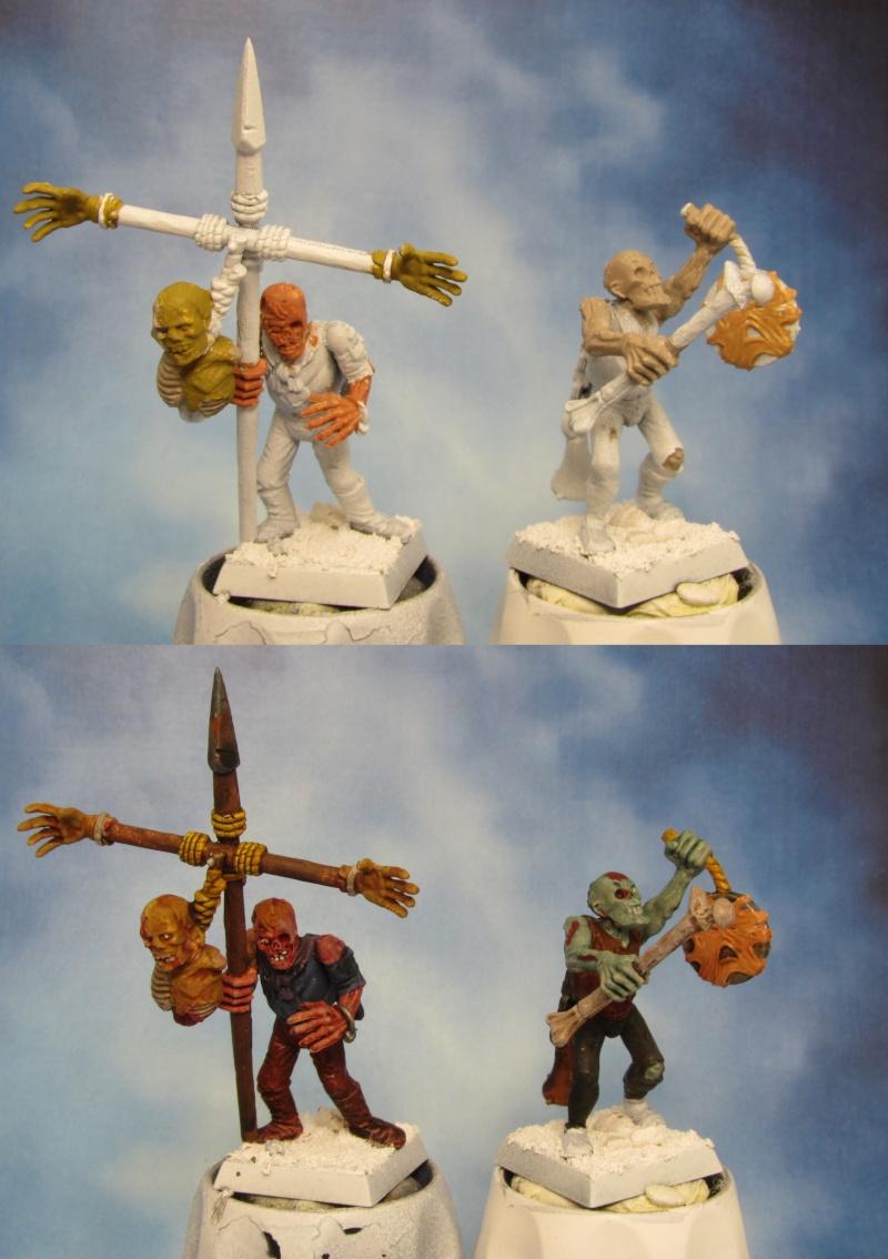 Peindre les peaux des zombies Zombie12