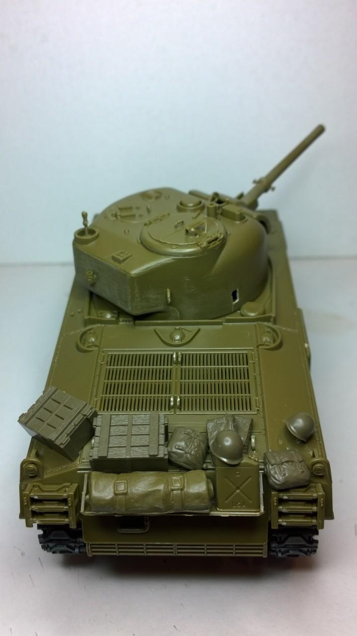 Sherman M4A3 Calliope  ITALERI au 1/35e Wp_20194