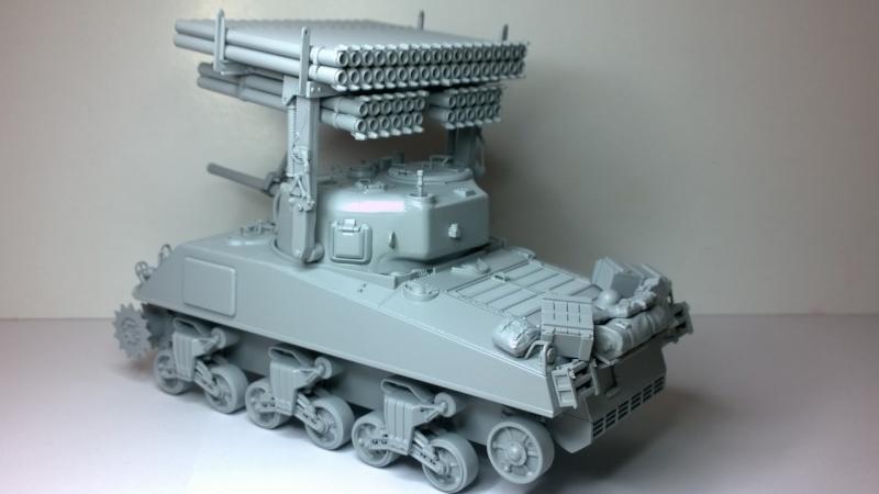 Sherman M4A3 Calliope  ITALERI au 1/35e Wp_20215