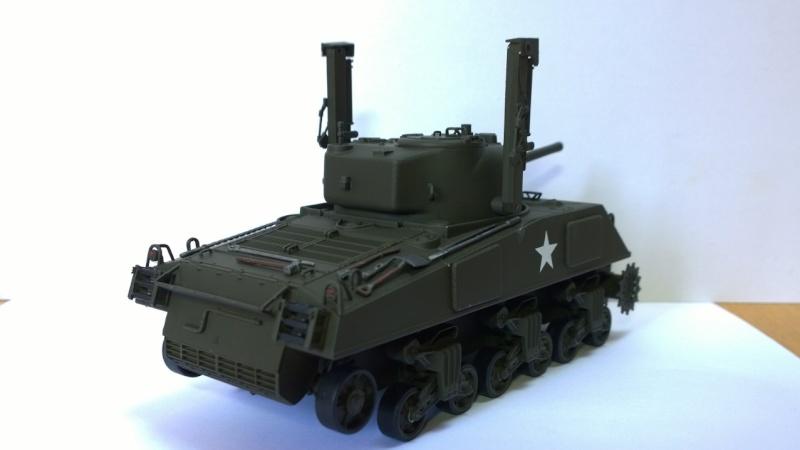 Sherman M4A3 Calliope  ITALERI au 1/35e Wp_20232