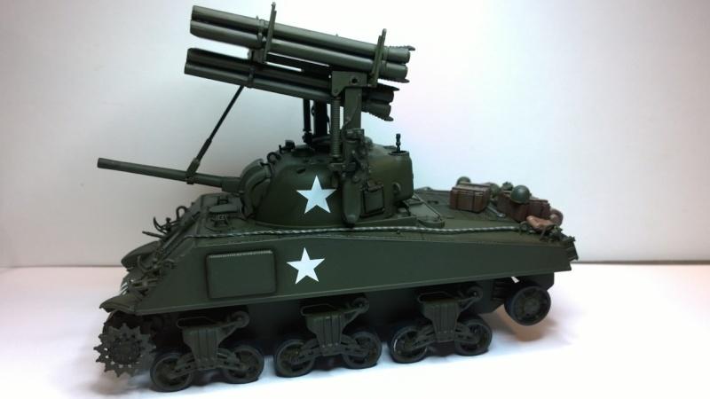 Sherman M4A3 Calliope  ITALERI au 1/35e Wp_20235
