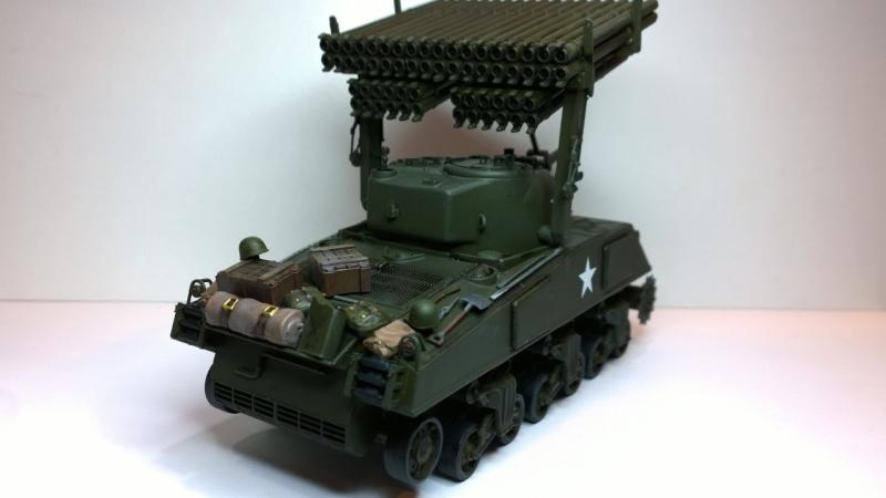 Sherman M4A3 Calliope  ITALERI au 1/35e Wp_20240