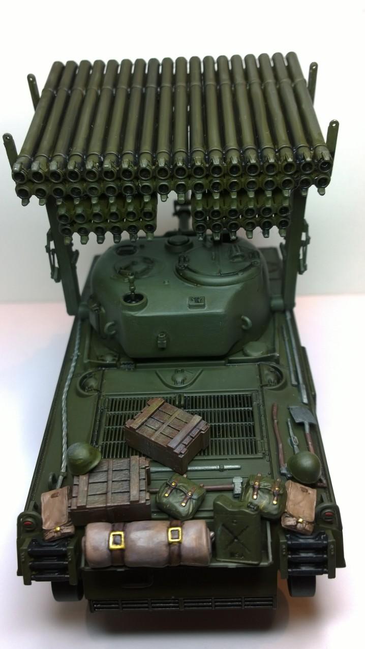 Sherman M4A3 Calliope  ITALERI au 1/35e Wp_20242