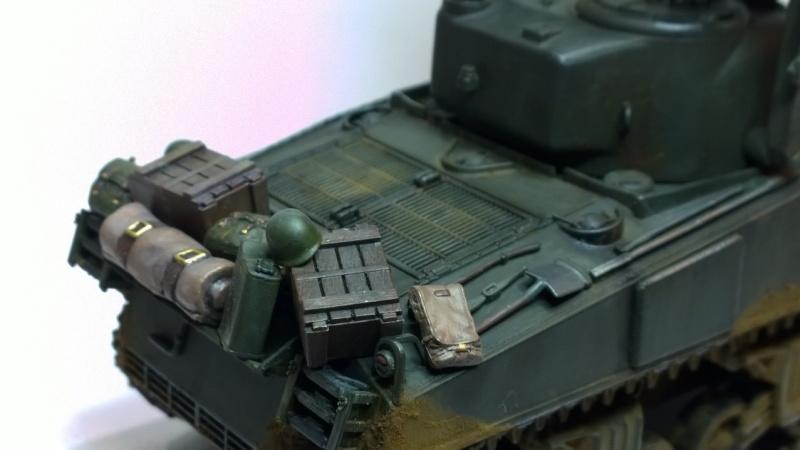 Sherman M4A3 Calliope  ITALERI au 1/35e Wp_20270