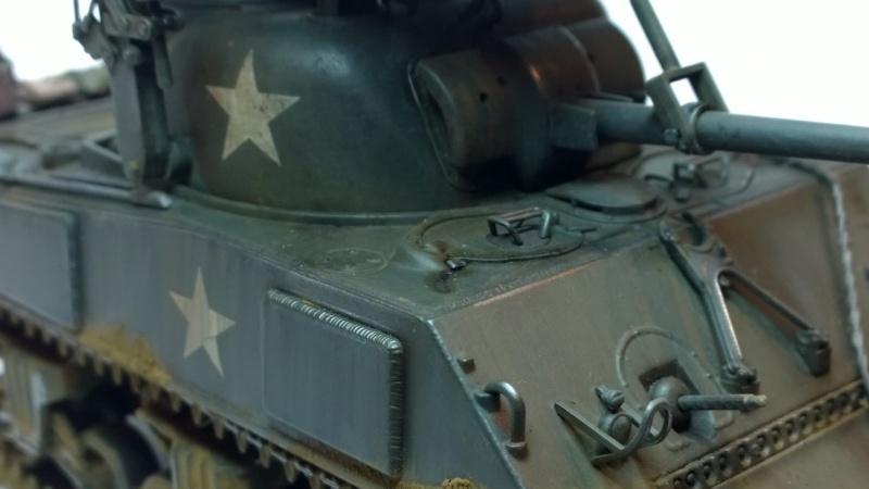 Sherman M4A3 Calliope  ITALERI au 1/35e Wp_20271