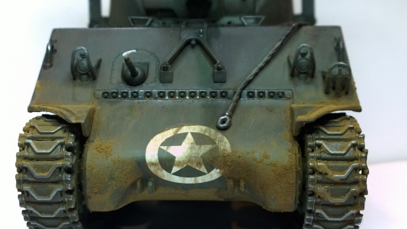 Sherman M4A3 Calliope  ITALERI au 1/35e Wp_20273