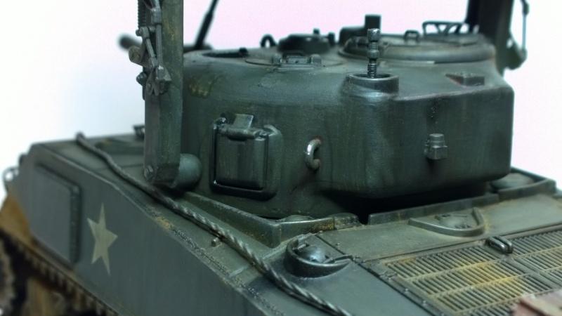 Sherman M4A3 Calliope  ITALERI au 1/35e Wp_20275