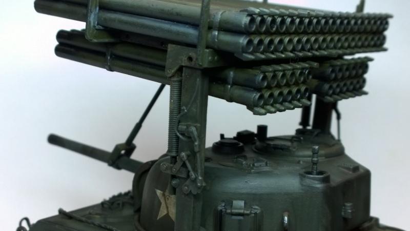 Sherman M4A3 Calliope  ITALERI au 1/35e Wp_20277