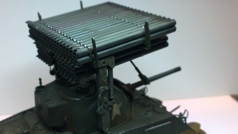 Sherman M4A3 Calliope  ITALERI au 1/35e Wp_20278