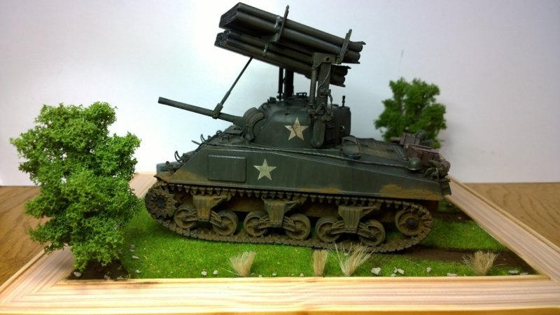 Sherman M4A3 Calliope  ITALERI au 1/35e Wp_20288