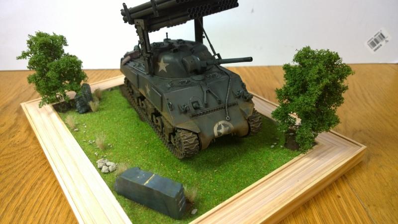 Sherman M4A3 Calliope  ITALERI au 1/35e Wp_20291