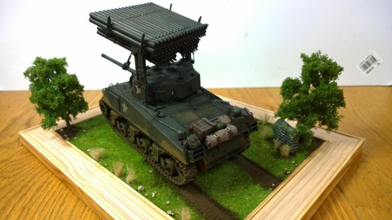 Sherman M4A3 Calliope  ITALERI au 1/35e Wp_20293