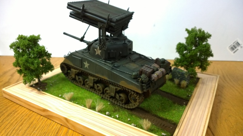 Sherman M4A3 Calliope  ITALERI au 1/35e Wp_20294