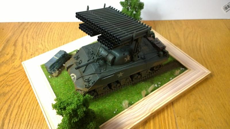 Sherman M4A3 Calliope  ITALERI au 1/35e Wp_20304