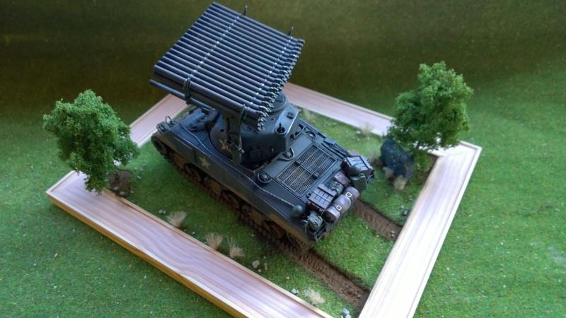 Sherman M4A3 Calliope  ITALERI au 1/35e Wp_20309