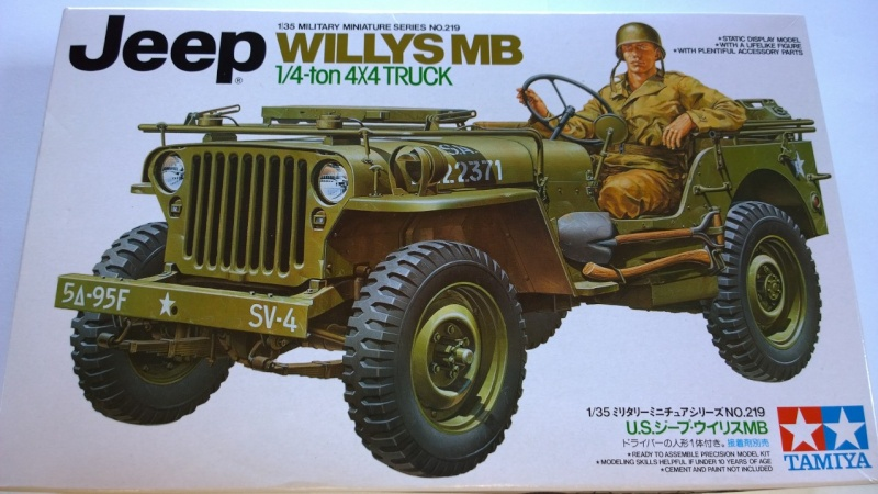 Jeep Willys MB - 1/35e - Tamiya Wp_20312