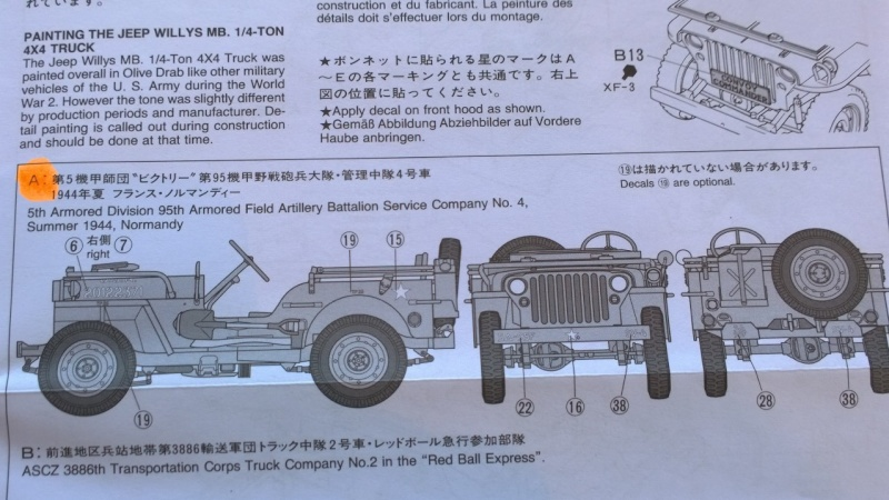 Jeep Willys MB - 1/35e - Tamiya Wp_20316