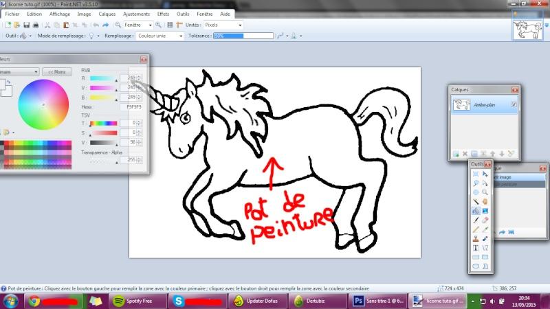 Les tutos de papa dertu' N°1: Le coloriage d'une licorne. Tuto_l12