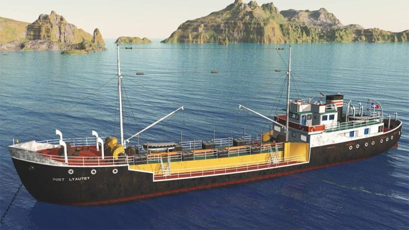 bateau Port Lyautey  ? Tanker10