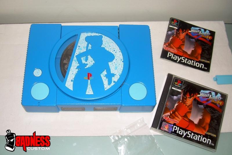 "Playstation 1 CusTOM "" Street Chun Li "" (4) Chun_l10"