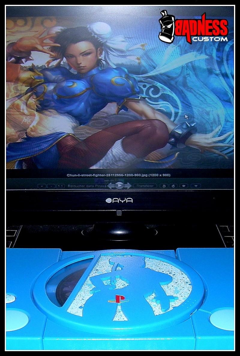 "Playstation 1 CusTOM "" Street Chun Li "" (4) Chun_l11"