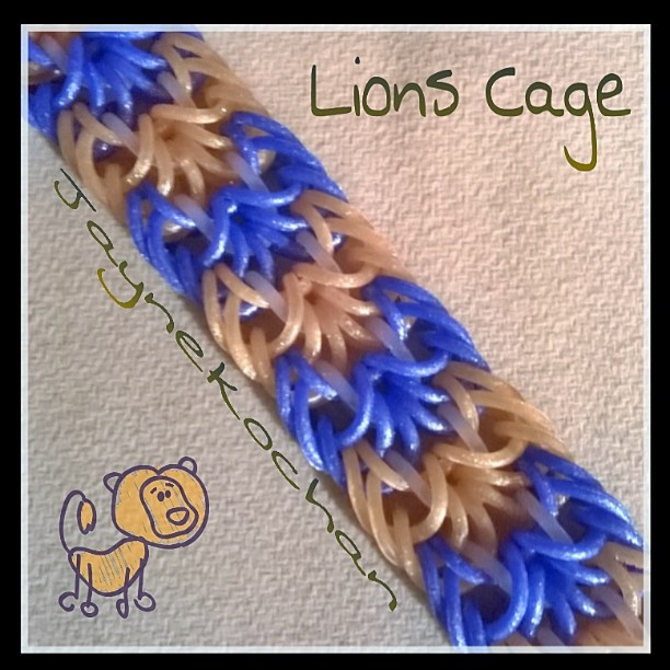 Hook only : Lions Cage Lions_10