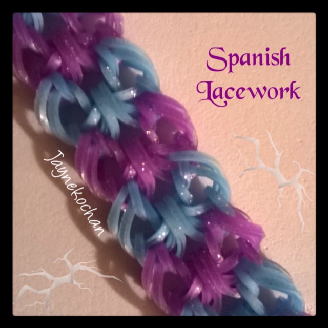 Hook only : Spanish Lacework Spanis10