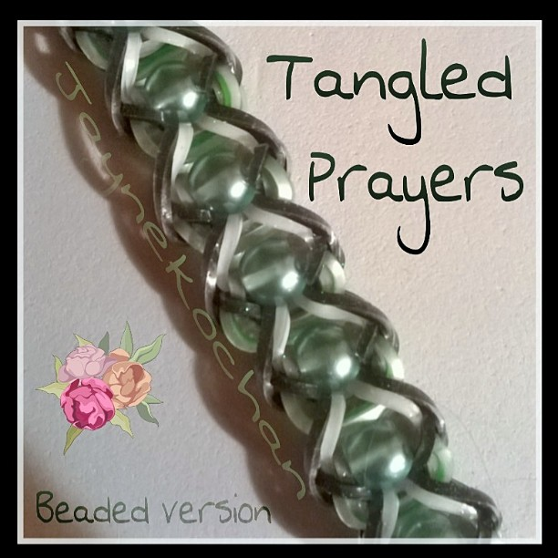 Hook only : Tangled Prayers Tangle10