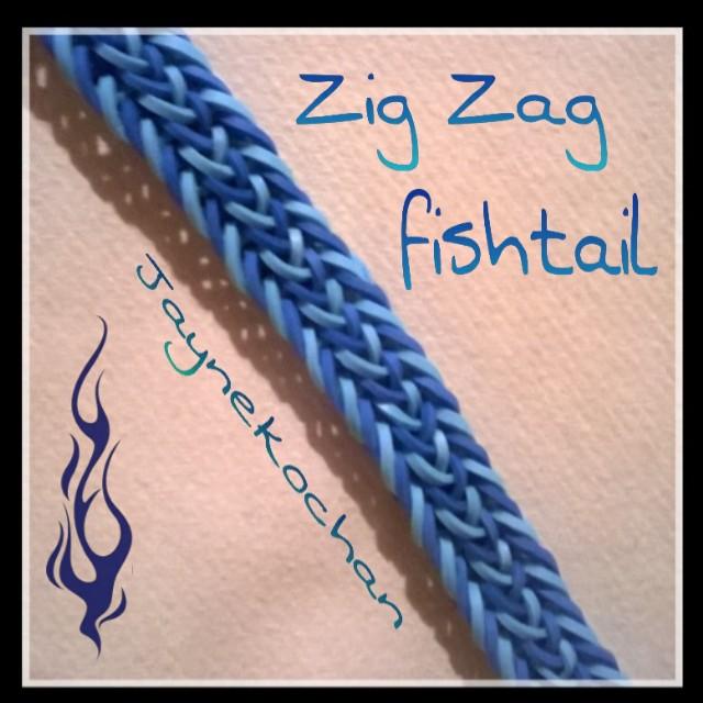 2 pins : Zig Zag Fishtail Zig_za10