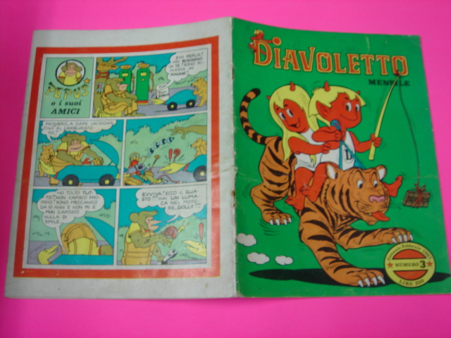 "[CERCO] FUMETTO ""DIAVOLETTO"" 1967 Xct34n10"