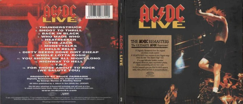 1992 - Live / live special collector's edition 126