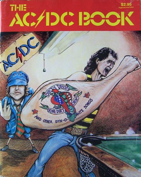 "Kwiz....""the AC/DC book"" (songbook) 135"