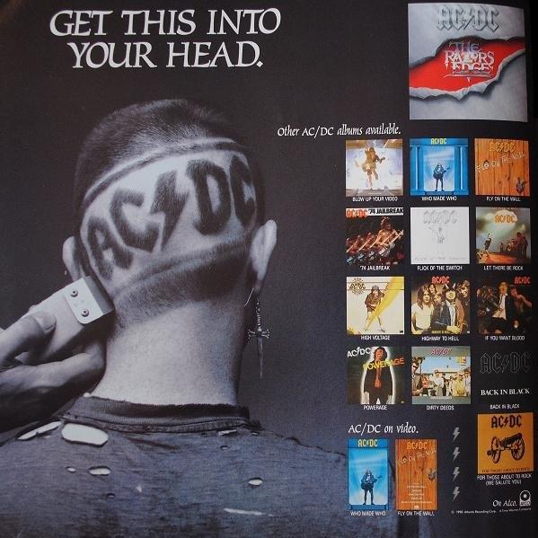 1990 - The razors edge 150