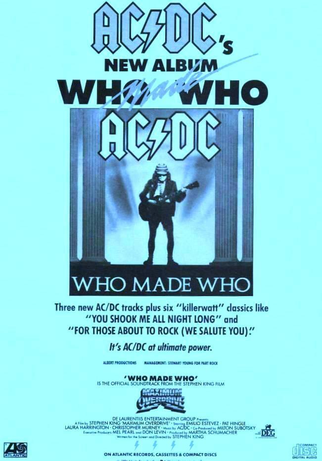 1986 - Who made who 241