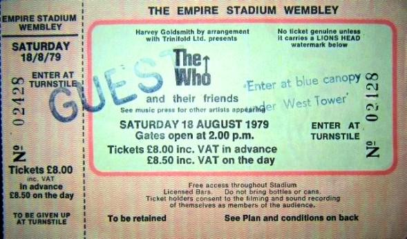 1979 / 08 / 18 - UK, London, The empire stadium wembley 267